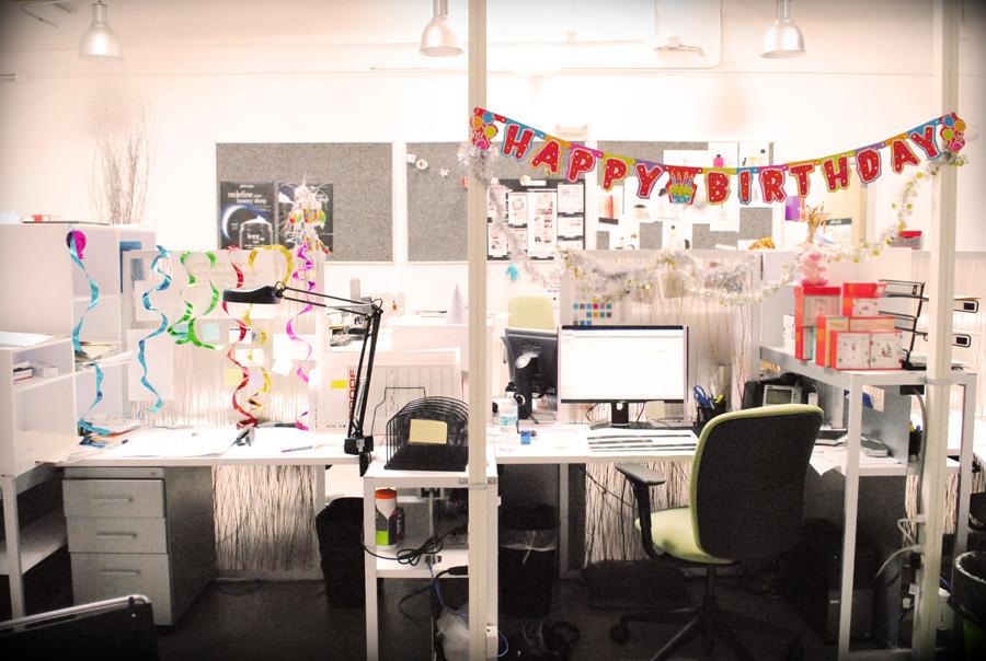every day is a celebration, including half-birthdays
