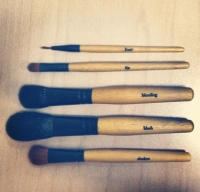 tiny makeup brushes from the philosophy vault
