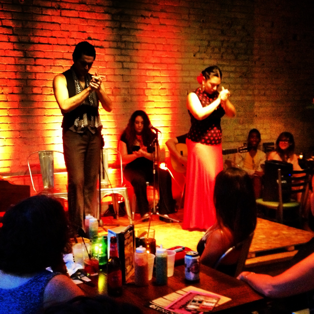 flamenco at the crescent ballroom in phoenix. {photo credit: @chrisadamsdsgn via instagram}