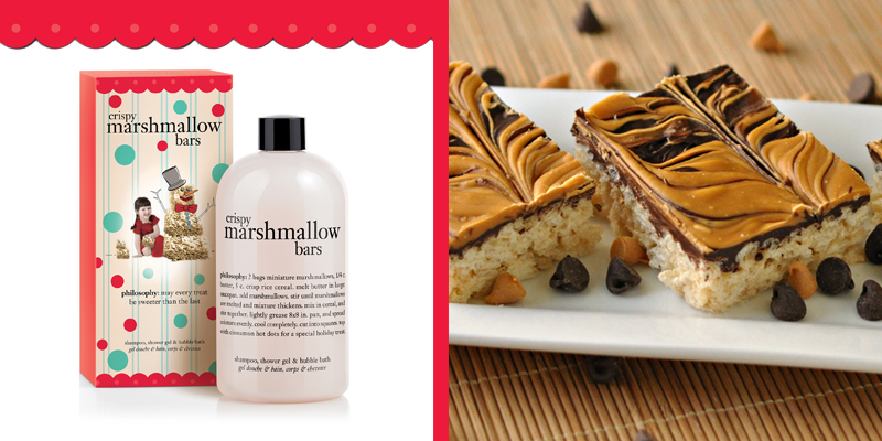 crispy marshmallow bars showel gel at philosophy.com